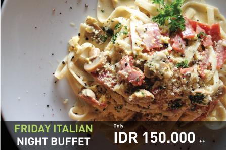 Friday Italian Night Buffet